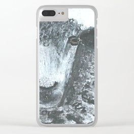 Ethereal Sheep Clear iPhone Case