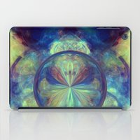castle in the sky iPad Cases featuring Castle In The Sky by Andi_GreyScale