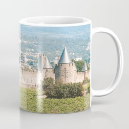 Carcassonne Medieval Citadel - Landscape Photography in Southern France - Languedoc Cathar Country Coffee Mug