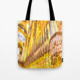 Barcelona Cathedral Old Master Tote Bag