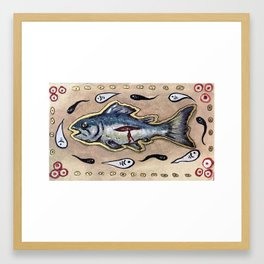 They All Fell Out of Him Framed Art Print