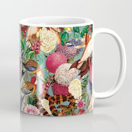 Floral and Animals pattern Coffee Mug