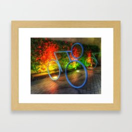 Tour de Nowhere Framed Art Print