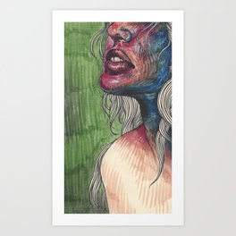Withrawals Art Print