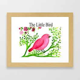 The Little bird Framed Art Print