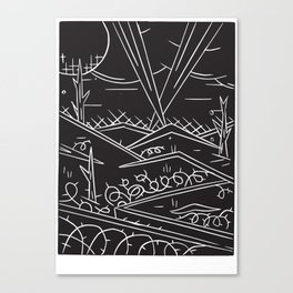 Battlefield Canvas Print