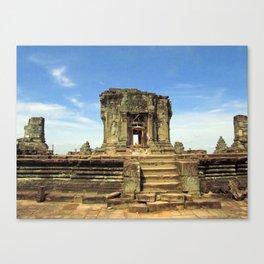 Angkor, Cambodia Canvas Print