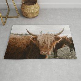 Highland Cattle 1987 Rug