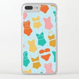 Coastal Swim Clear iPhone Case