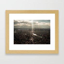 Tokyo View Framed Art Print