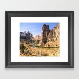 Smith Rock State Park Framed Art Print