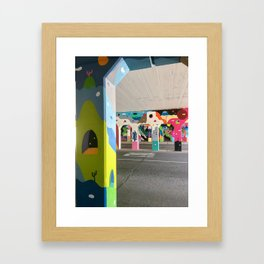 They're here... Framed Art Print