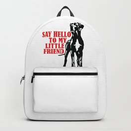 Say hello to my little Great Dane friend Backpack