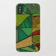 Tropical Farm iPhone X Slim Case