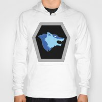 hologram Hoodies featuring Visionaries Wolf by cardboardLAB