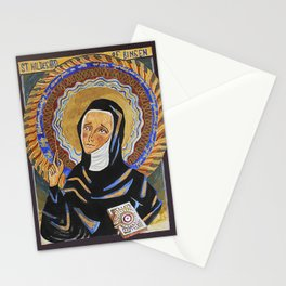 St. Hildegard of Bingen Stationery Cards