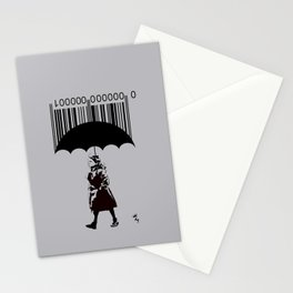 """""""The Girl in the Red Coat"""" Stationery Cards"""