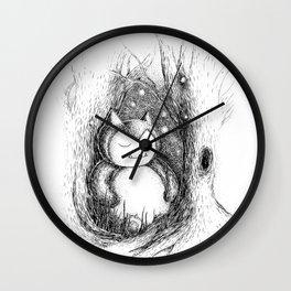 Snoozy Snorlax Wall Clock