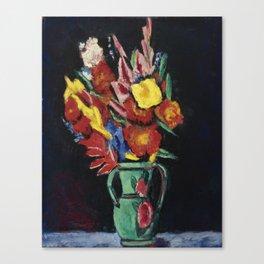 Marsden Hartley 1878 - 1943 STILL LIFE WITH FLOWERS Canvas Print