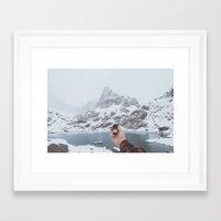 compass Framed Art Prints featuring Compass by Luke Gram