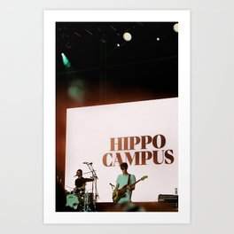 Hippo Campus at Governor's Ball 2019 Art Print