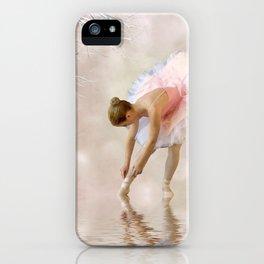 Dancer in Water iPhone Case