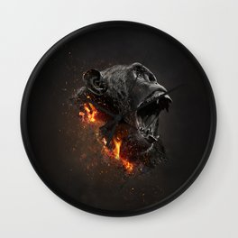 XTINCT x Monkey Wall Clock