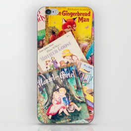 Little Vintage Library iPhone Skin