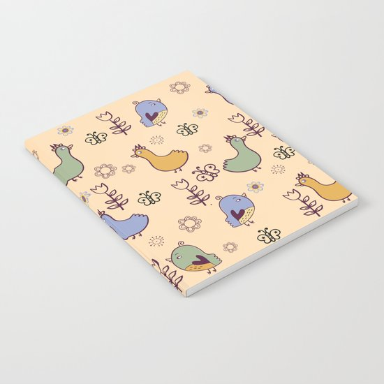 Cute Pattern 3 Notebook