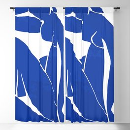 Henri Matisse - Blue Nude 1952 - Original Artwork Reproduction Blackout Curtain
