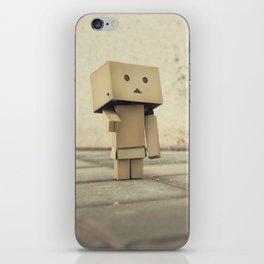 Danbo on the street iPhone Skin