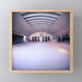 Pool of Fog Framed Mini Art Print