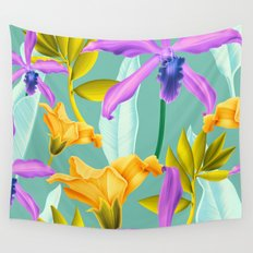 Tropical overload Wall Tapestry