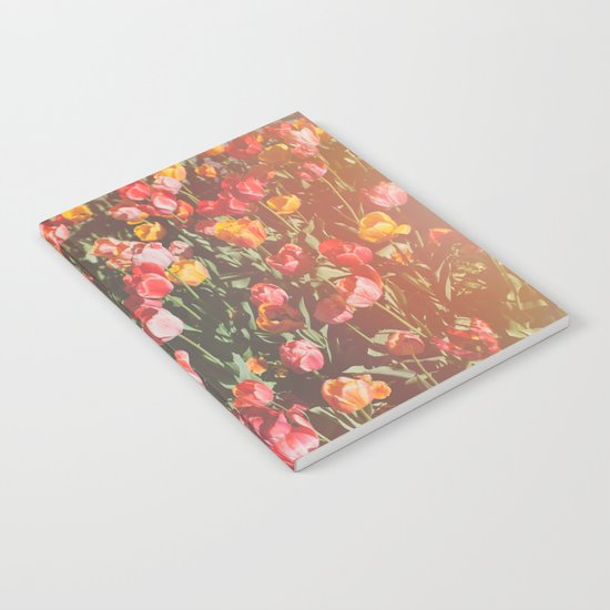Tulip Field Notebook