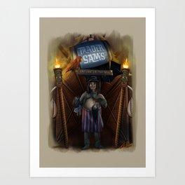 Trader Sam by Topher Adam 2017 Art Print
