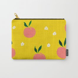 Peaches pattern Carry-All Pouch