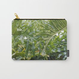 Tropical Greens Carry-All Pouch