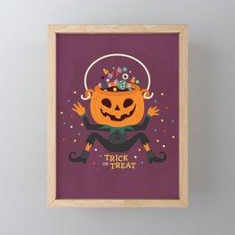 Trick or Treat Framed Mini Art Print