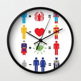 Super Math Wall Clock