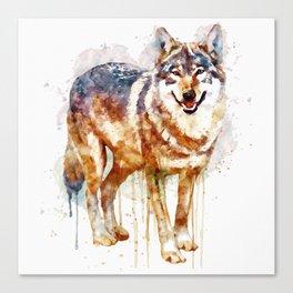 Alpha Wolf Canvas Print