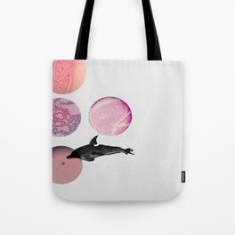 tiny beauties are swimimg around Tote Bag