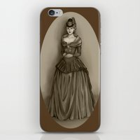 lydia martin iPhone & iPod Skins featuring Lydia Martin by Katsur