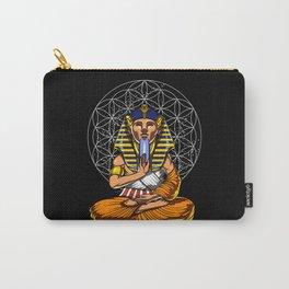 Zen Yoga Egyptian Pharaoh Tutankhamun Meditation Carry-All Pouch