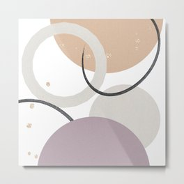 Minimalist Pattern Metal Print