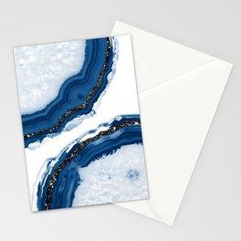 Agate Glitter Glam #14 #gem #decor #art #society6 Stationery Cards