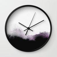 georgiana paraschiv Wall Clocks featuring C11 by Georgiana Paraschiv