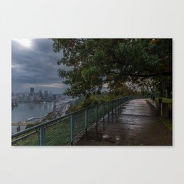 West End Overlook Canvas Print