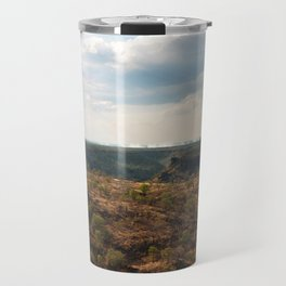 Mist of Victoria Falls. Travel Mug