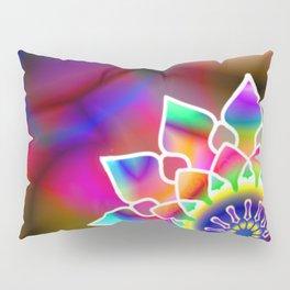 Hippie mandala Pillow Sham