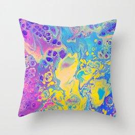 Unicorn Vibes Throw Pillow